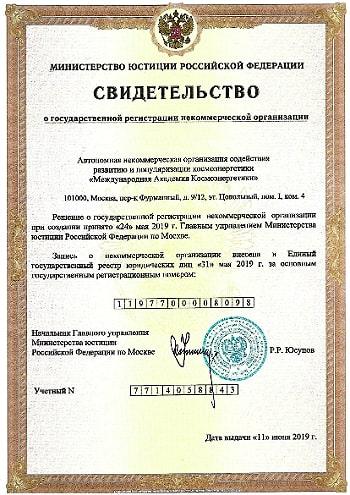 <b>Международная Академия Космоэнергетики</b>