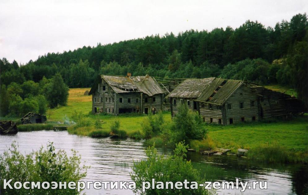 Карельская деревня Кумса считается вымирающей